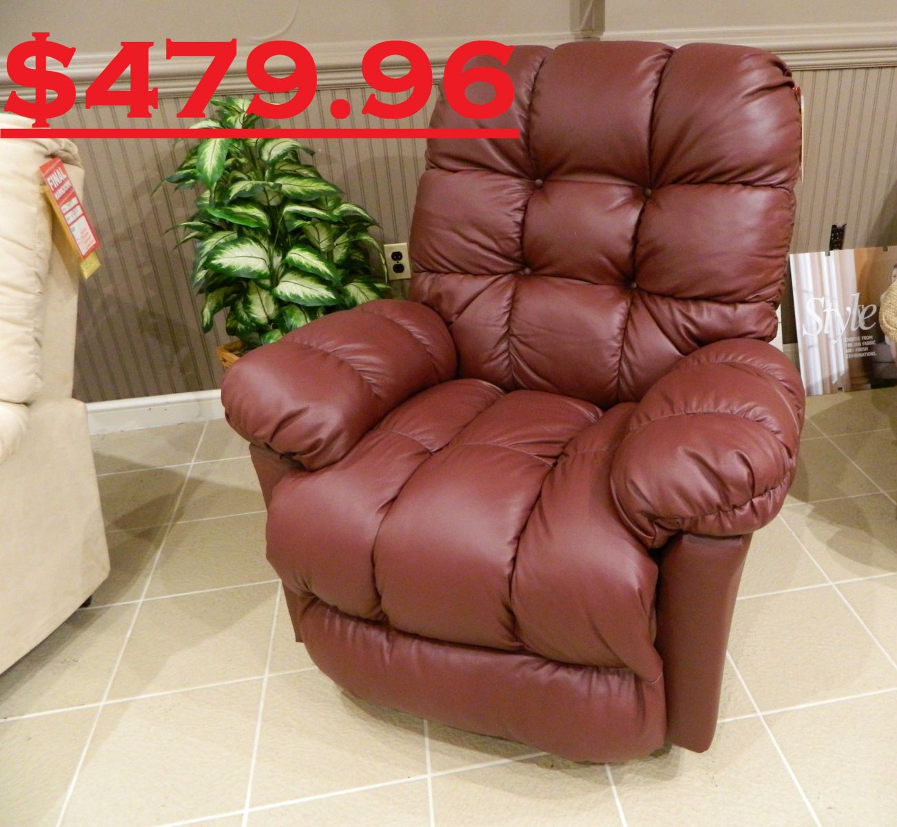Best Brosmer Rocker Recliner was $915 clearance price $479.96 & Best Brosmer Recliner 479_96(1).JPG islam-shia.org