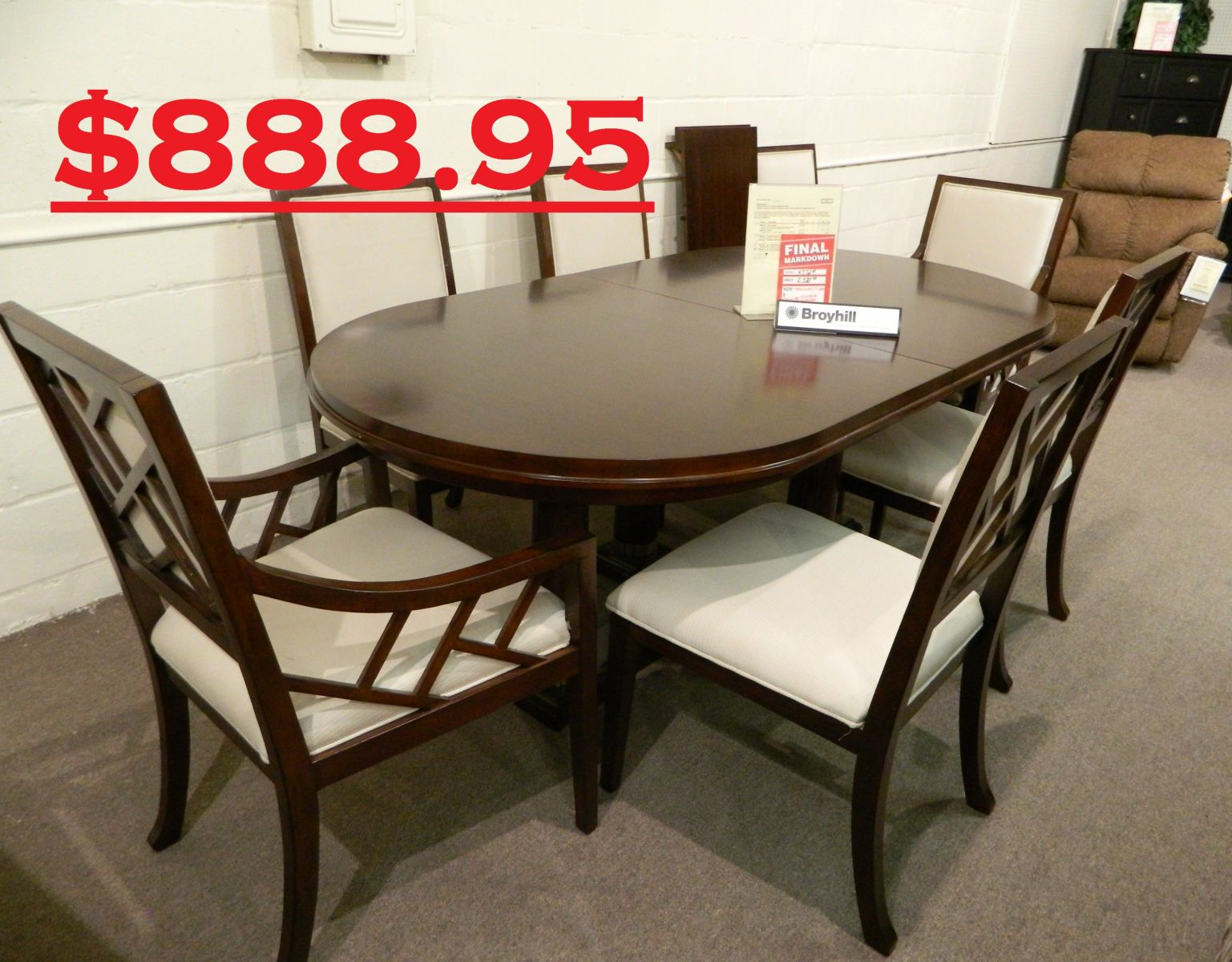 Dining Room Sets Clearance | About Walker Furniture Your Thomasville Furniture Store In