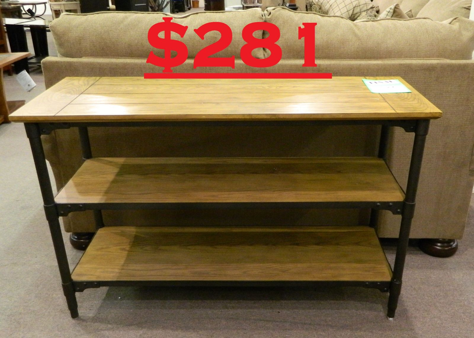 Broyhill Ember Grove Sofa Table Was 570 Clearance Price 281